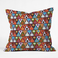 DENY Designs Home Accessories | Sharon Turner Felted Tordot Throw Pillow