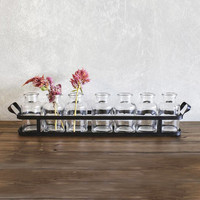 8-Pc. Apothecary Bottles with Tray