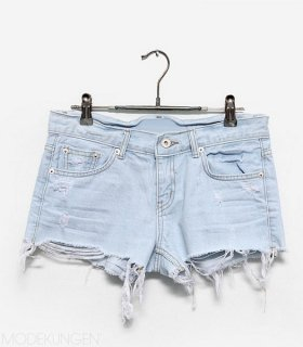 Denim shorts - Trashed - Shorts & Pants - Women - Modekungen | Clothing, Shoes and Accessories