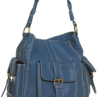 15DOLLARSTORE.COM - ANGIE & LOLA Cargo Pocket Shoulder Bag (Blue)