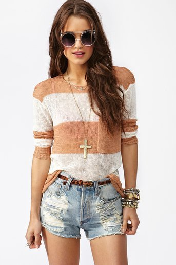 Shoreline Knit - Nude