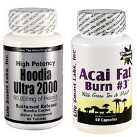Amazon.com: Combo ACAI Fat Burn #3 and Hoodia Ultra 2000 Diet Pill with Green Tea, Grapefruit, Apple Cider, and more for Weight Loss and 2000mg of Hoodia: Health & Personal Care