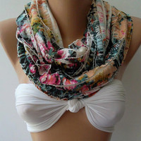 Spring -Infinity /Shawl/Scarf...