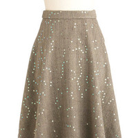 Soiree Among the Stacks Skirt | Mod Retro Vintage Skirts | ModCloth.com