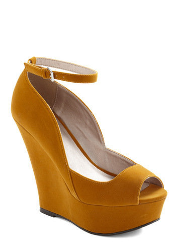 Step Into My Office Wedge | Mod Retro Vintage Wedges | ModCloth.com