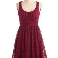 Raspberry Iced Tea Dress | Mod Retro Vintage Dresses | ModCloth.com