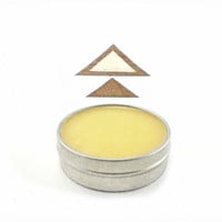 Natural Baby Balm - Organic Skin Care  - Eco Friendly - geometric desert mustard sun home autumn fall Soothe, Heal, Dry, Sensitive Skin