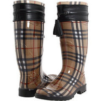 Burberry Haymarket Check Rainboot