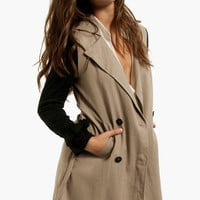 Armed and Ready Trench Coat $47 (on sale from $68)