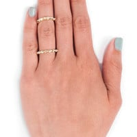 Thin Spike Ring $15