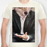 the politician T-shirt by karien deroo | Society6