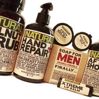 Working Mans Hygiene Kit for Dad Gifts for Men Hygiene for Men, Lotion for Men Soap for Men, Natural Hygiene Products