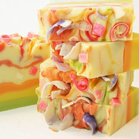 Tutti Fruiti Handmade Artisan Cold Process Soap by SV.Soaps