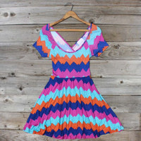 Jack Creek Chevron Dress, Sweet Women's Country Clothing