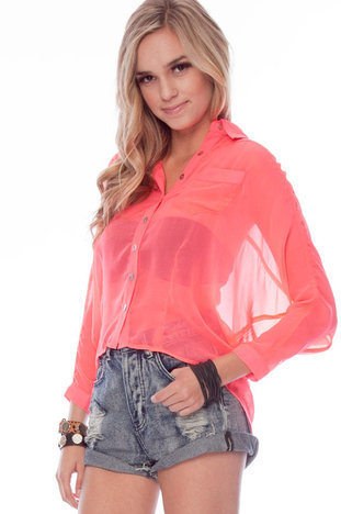 Pick Pocket Button Down Shirt $19 (on sale from $43)