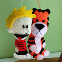 Calvin and Hobbes Felties