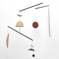 Totokaelo - Fort Makers Multi Wood Circle Mobile 2 - $800.00