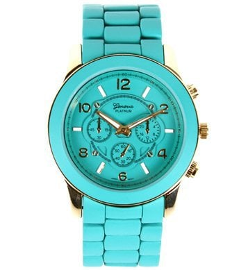 Turquoise Over-sized Watch