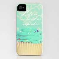 Life is as Sweet as Cupcakes iPhone Case by Beth - Paper Angels Photography | Society6