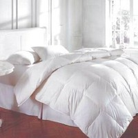 Bedding White Feather Down Bed Comforter - King Size: Amazon.com: Home & Kitchen