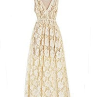 Imitation Molly Maxi Creme Dress