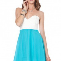 Ali Strapless Dress - ShopSosie.com