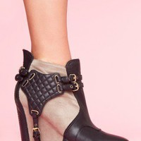 Sam Edelman Zoe Boot - Gray - NASTY GAL