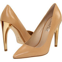 KORS Michael Kors Elgin (Nude Leather) - Pumps