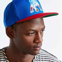 Mitchell & Ness Patriots NFL XL Logo Snapback Hat- Blue One