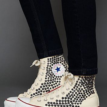 Converse Womens Tommy Studded Chucks - Parasailing, 10