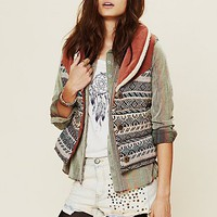 Free People Corduroy Connection Reversible Vest
