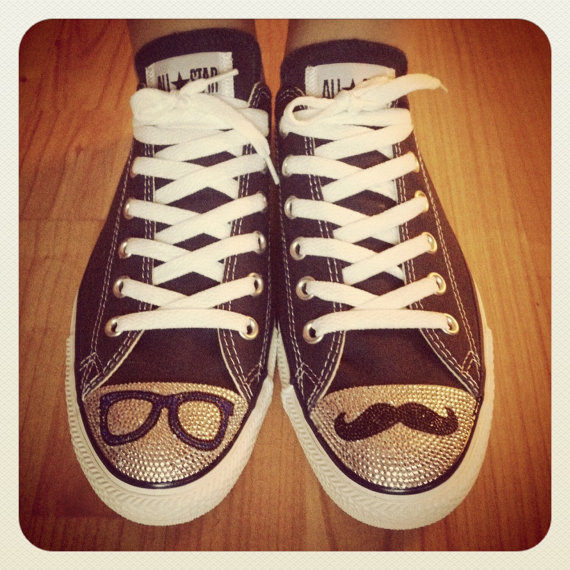 Converse All Star - Customised With What You Want - Send Me Your Own Shoes.