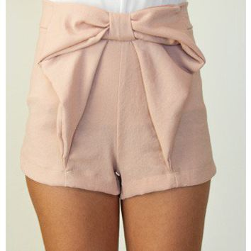 Bow Shorts - Bottoms - Apparel | Sugar and Sequins