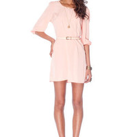 Sera Belted Zip Dress $45