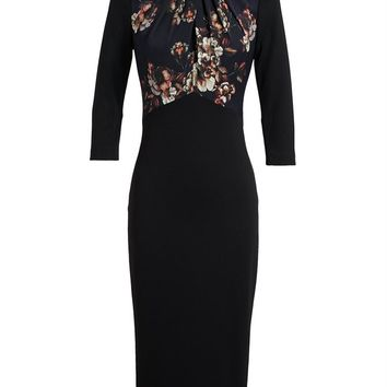 JASON WU   Fitted Floral Dress   Browns fashion & designer clothes & clothing