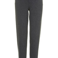 MATERNITY Luxe Charcoal Joggers - Charcoal