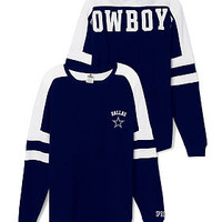 Dallas Cowboys Pocket Varsity Crew - PINK - Victoria's Secret