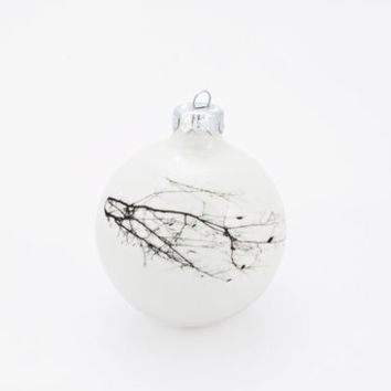 Handmade Christmas Bauble With Twig