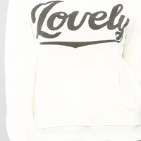 SOFT LOVELY SWEATSHIRT