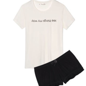 My Way T Shirt And Shorts Set