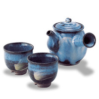 Hagi Daruma Small Tea Set