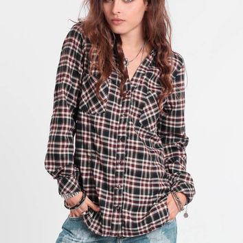 The Woods Plaid Button-Up