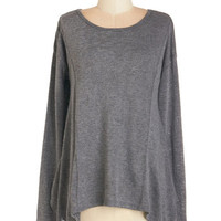ModCloth Mid-length Long Sleeve Be Who You RR Top