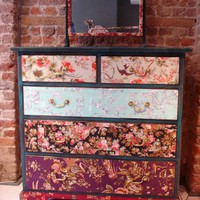 Squint Limited - Flowered Cabinet