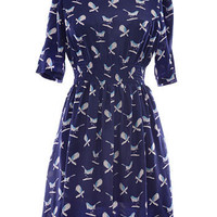 Little Bird Blue Dress