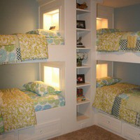 Favorite Places and Spaces / would be cute for a kids guest room or some such