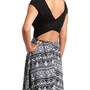 Crisscross Back Aztec Skater Dress: Charlotte Russe