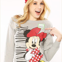 Minnie Mouse Reversible Sweatshirt