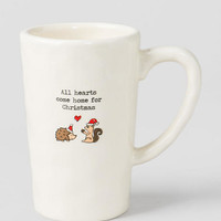 All Hearts Come Home for Christmas Mug
