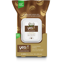 Yes To Coconuts Cleansing Wipes 25 Count